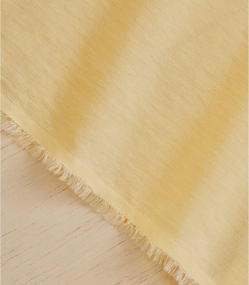 Tissu light Diamond Jacquard - Mellow