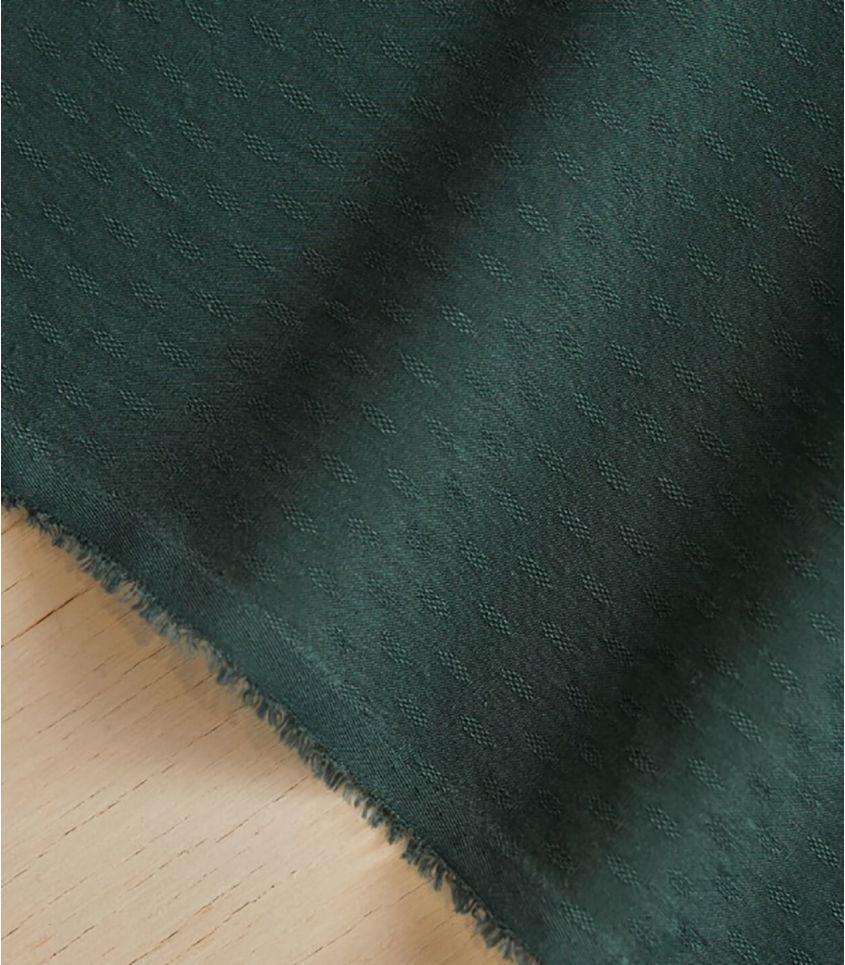 Tissu light Diamond Jacquard - Deep Green
