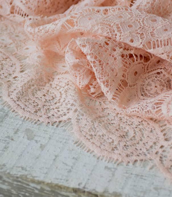 Tissu dentelle Axelle - Nude