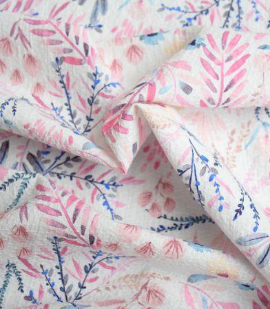 Tissu jacquard de coton fin - Primavera Sweet