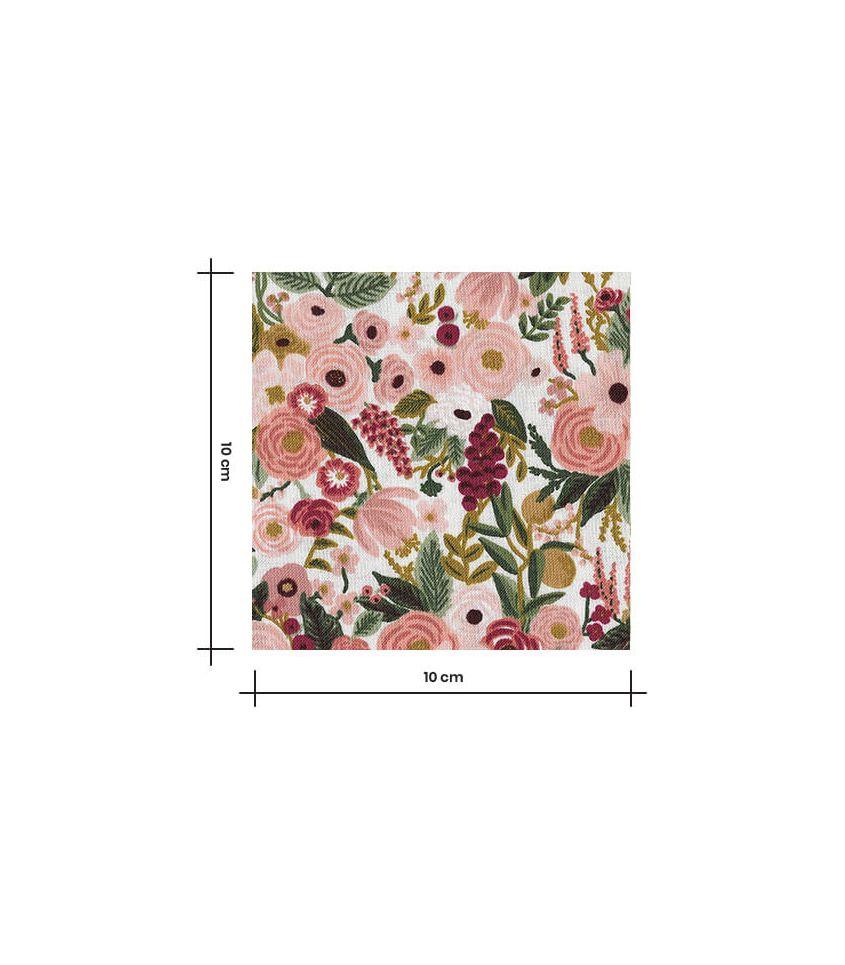Tissu Petite Garden Party - Rose