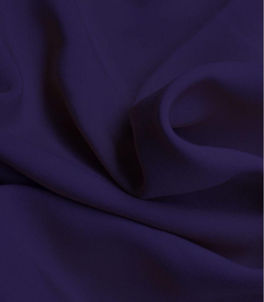 Twill viscose purple