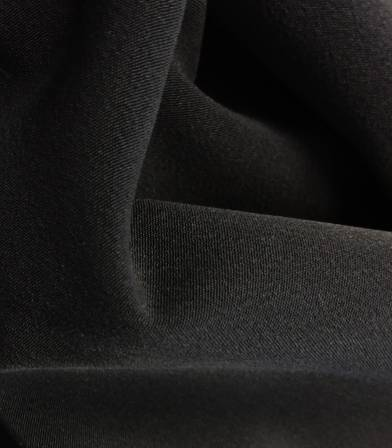Luxury crêpe black