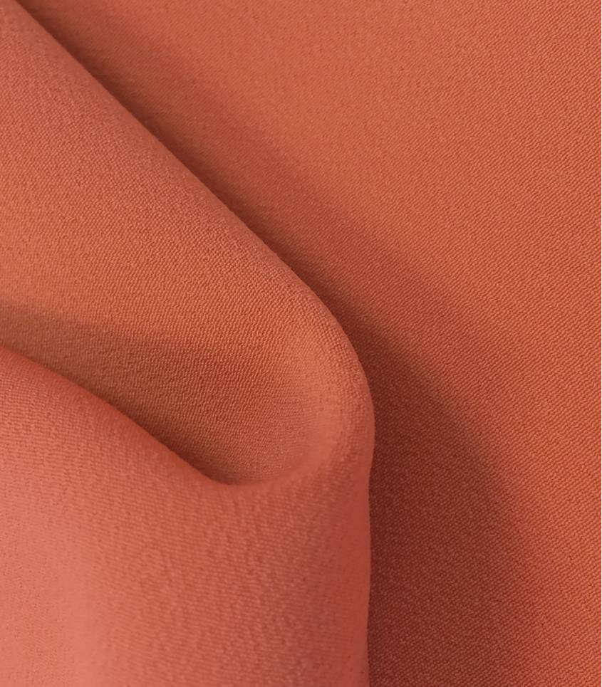 Luxury crêpe coral