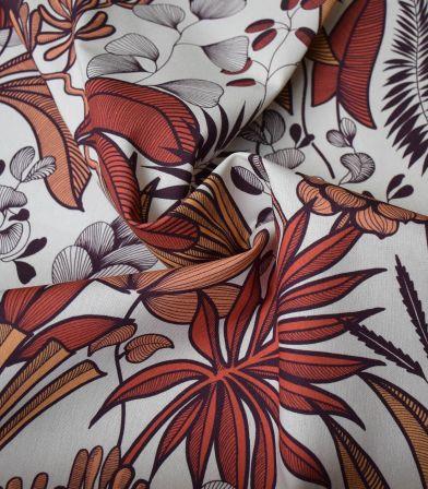 Tissu coton - Lombok Terracotta