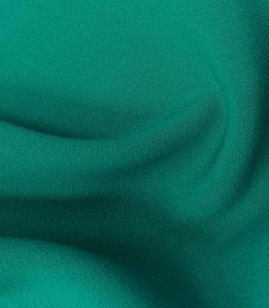 Luxury crêpe vert jade