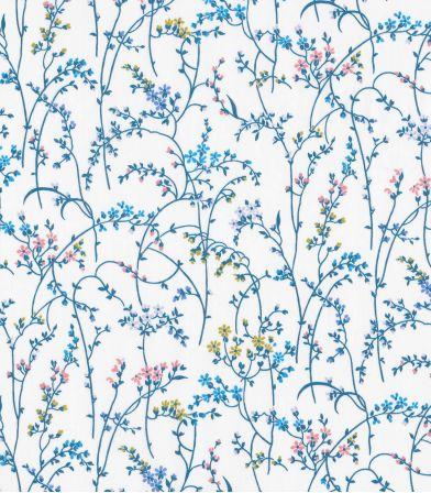 Tissu Liberty Erica - white