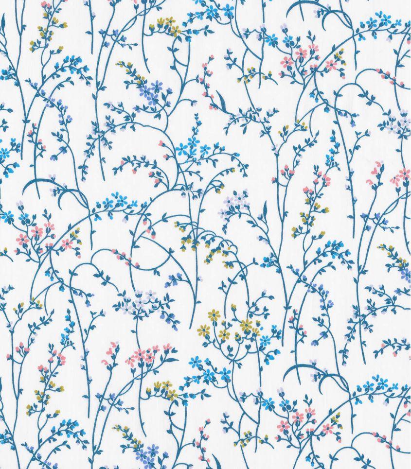 Tissu Liberty Erica - blue