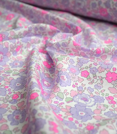 Liberty Betsy fluo lilas