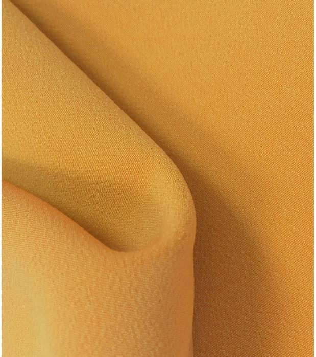 Crêpe jaune lourd par Cousette