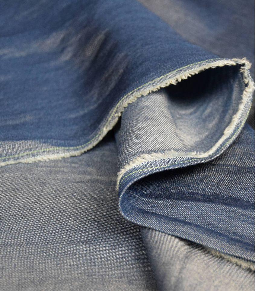Tissu lyocell - chambray jean