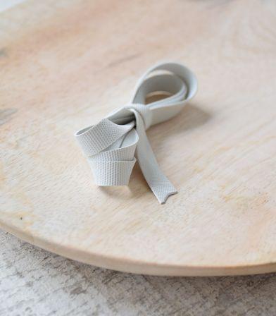 Laminette siliconée blanche - 8mm