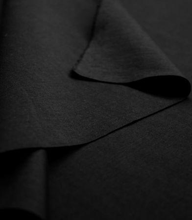Tissu Jersey Milano fin - Noir