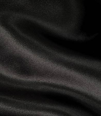 Tissu doublure satin noire
