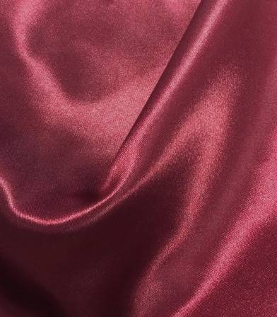 Doublure satin bordeaux