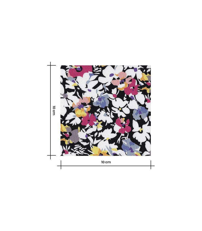 Tissu viscose - Multitude Noir