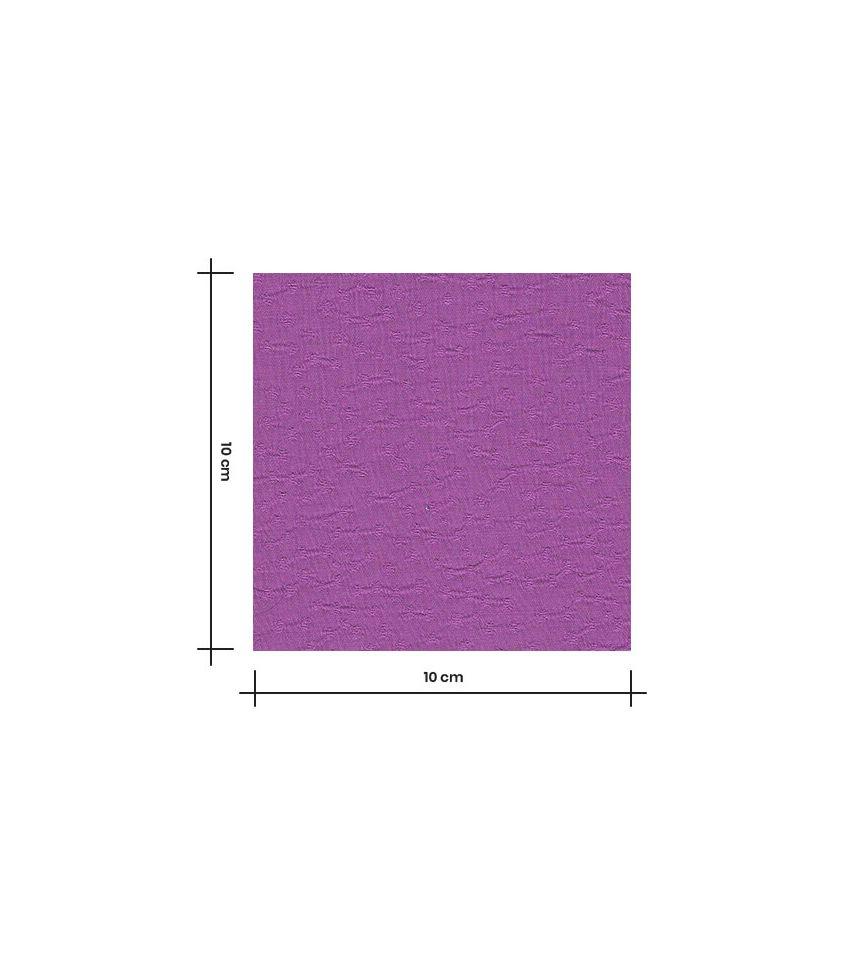 Tissu viscose Jaquard - Rice Purple