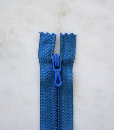 Fermeture éclair - bleu drapeau 540