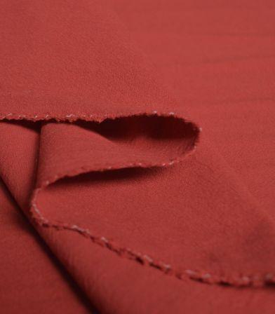 Coton lavé Uni- Cayenne
