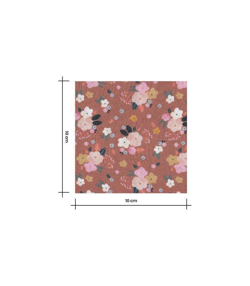 Tissu Viscose Ecovero - Best Friends flowers