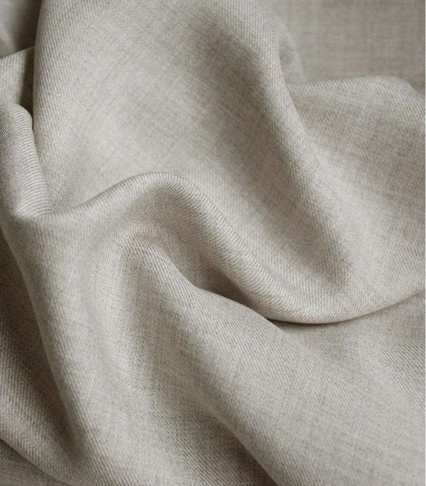 Tissu twill viscose mélange - Sand