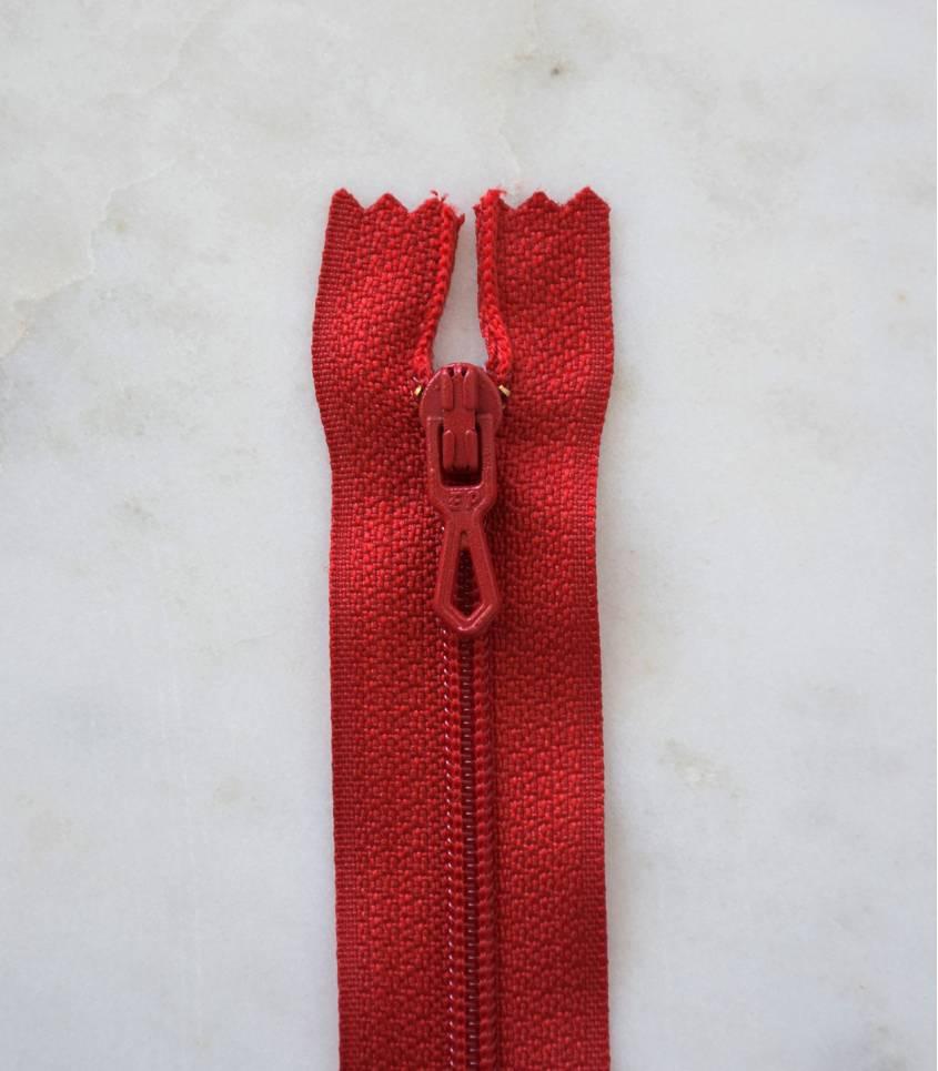 Fermeture éclair - rouge 850