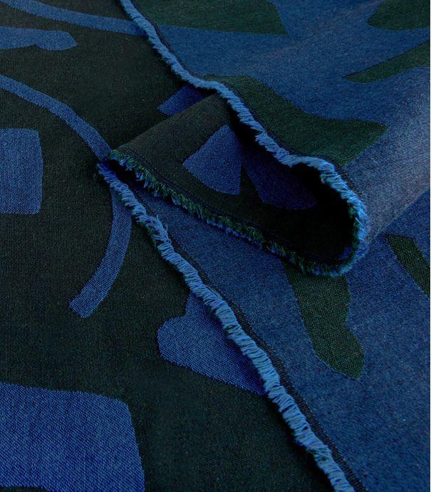Tissu jacquard fin Play Soft - Neptune
