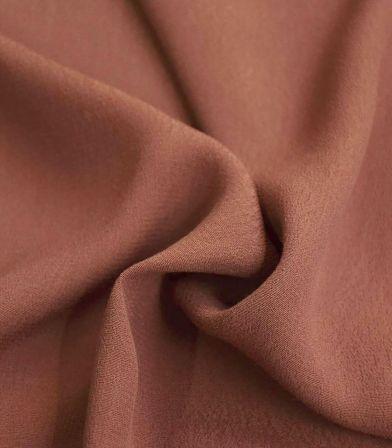Tissu crêpe viscose - Ambre