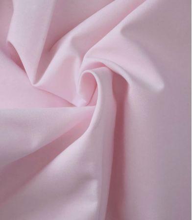 Tissu popeline de coton Nude