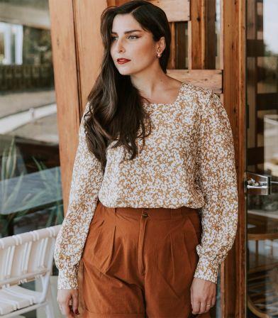 Patron Blouse / Robe Lauren