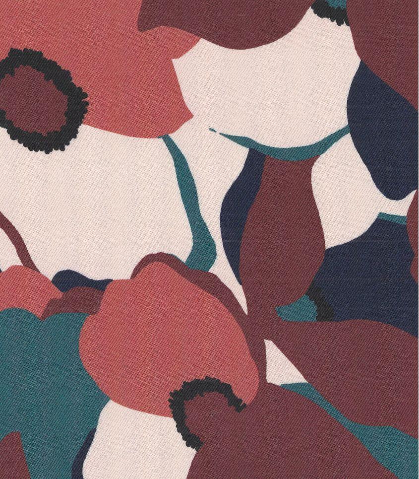 Tissu twill Magnolia - Mélèze
