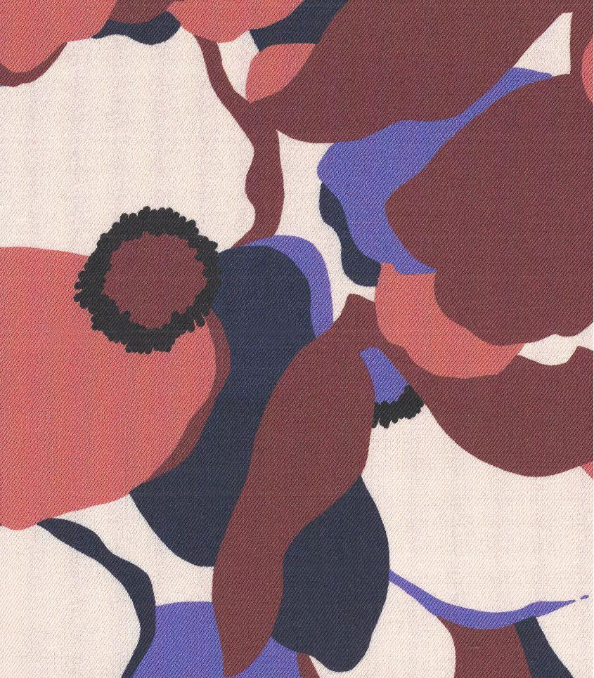 Tissu twill Magnolia - Iris