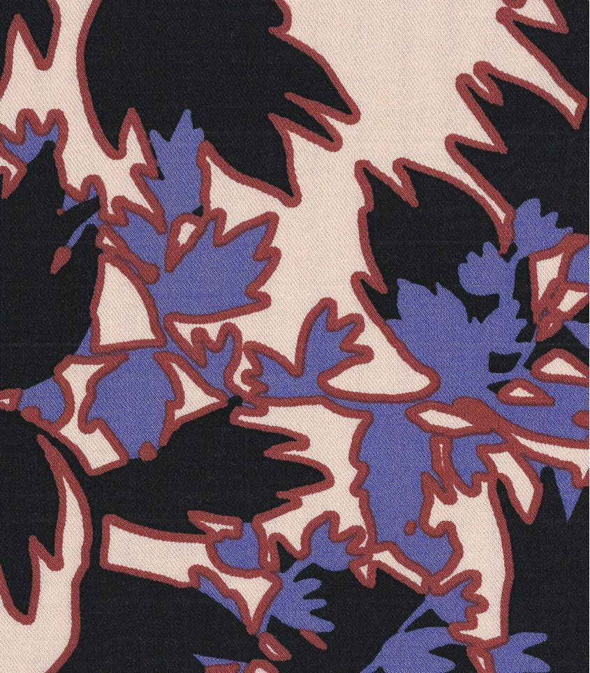 Tissu twill Estampes - Iris