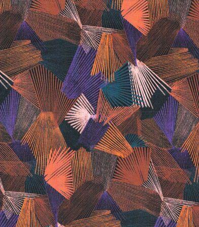Tissu viscose Kaléidoscope - Dark