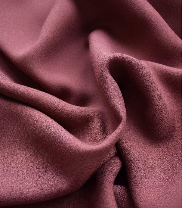 Tissu crêpe de viscose - Acajou