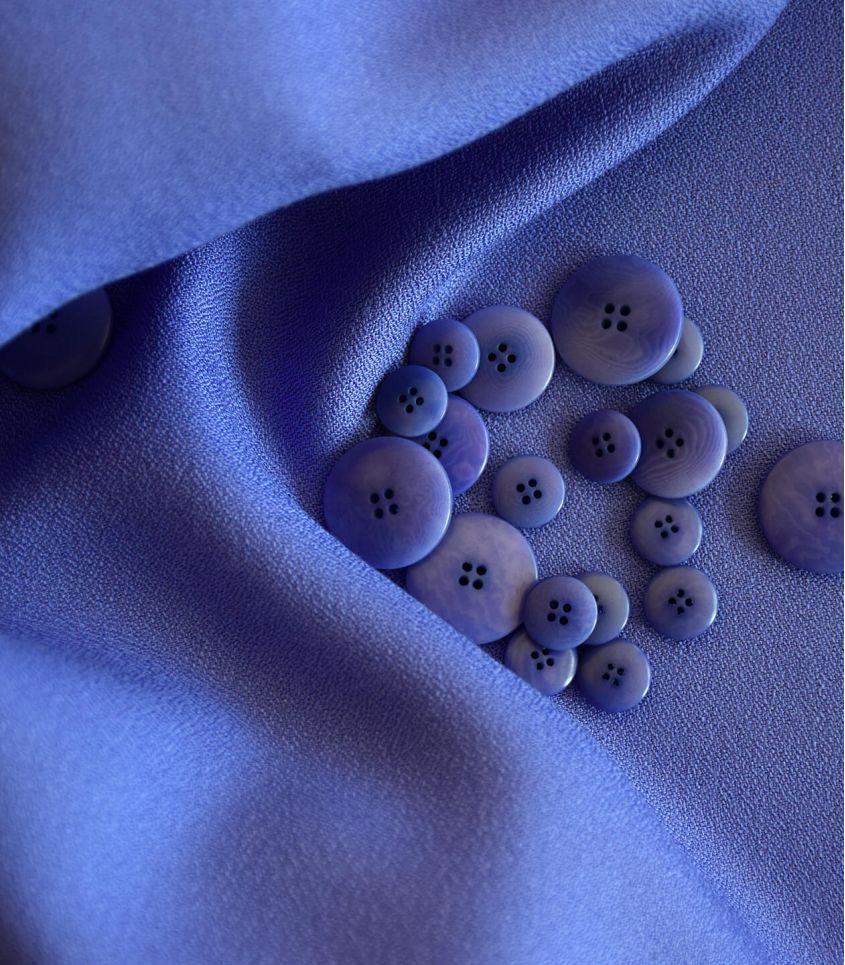 Tissu crêpe de viscose - Iris