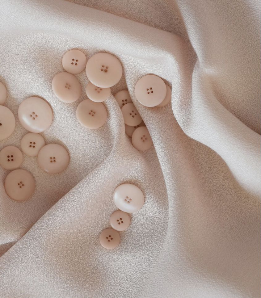 Tissu crêpe de viscose - Poudre