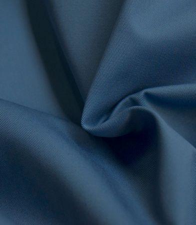 Tissu gabardine bleu jean
