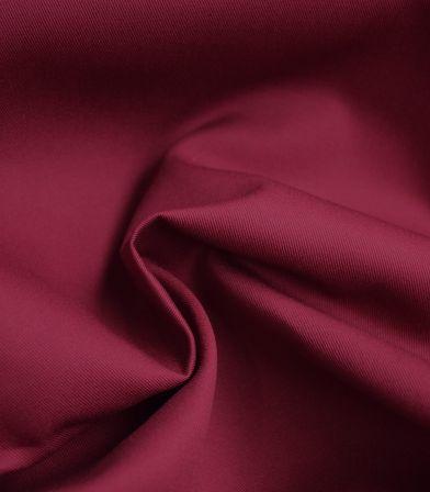 Tissu gabardine bordeaux