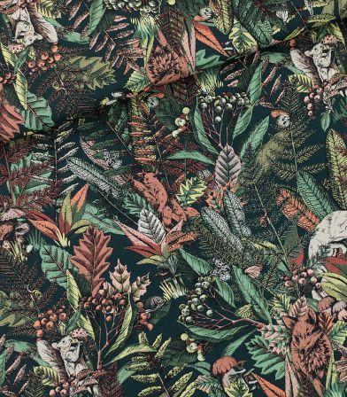 Tissu Twill coton Autumn joy- Forest river