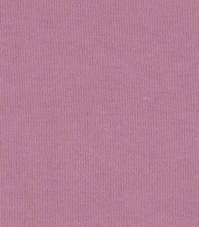 Tissu jersey de coton bio -  dusty rose