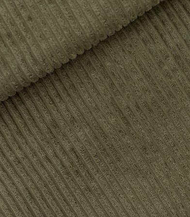 Tissu velours larges côtes - Khaki