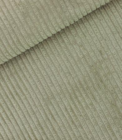 Tissu velours larges côtes - Green Tea