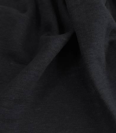 Tissu jersey de lin caviar