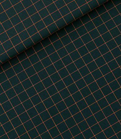 Tissu gabardine Thin grid S - Forest river