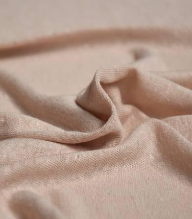 Tissu jersey lin/viscose - piel