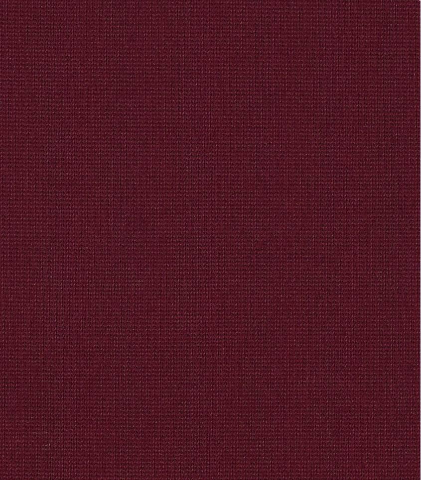 Tissu jersey viscose bordeaux