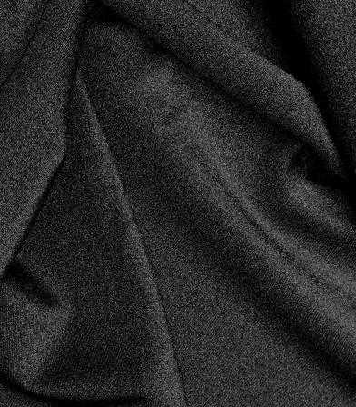 Jersey lycra noir