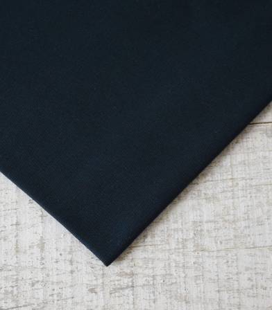 Tissu gabardine bleu nuit