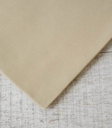 Tissu gabardine sable